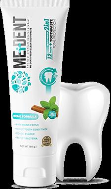 MEDENT ยาสีฟันสมุนไพร 2in1 รีวิว