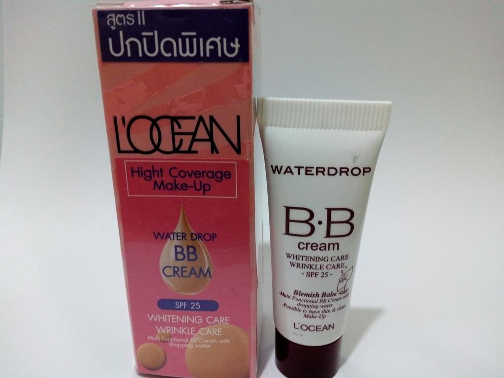 LOCEAN Waterdrop BB Cream สูตรปกปิดพิเศษ ปรับสภาพผิวหน้า