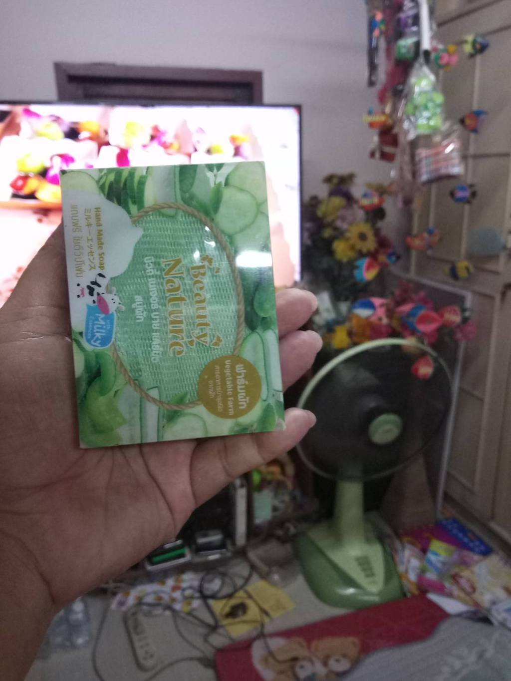 Beauty Nature by Carebeau Fruit Soap SB Interlab รีวิว