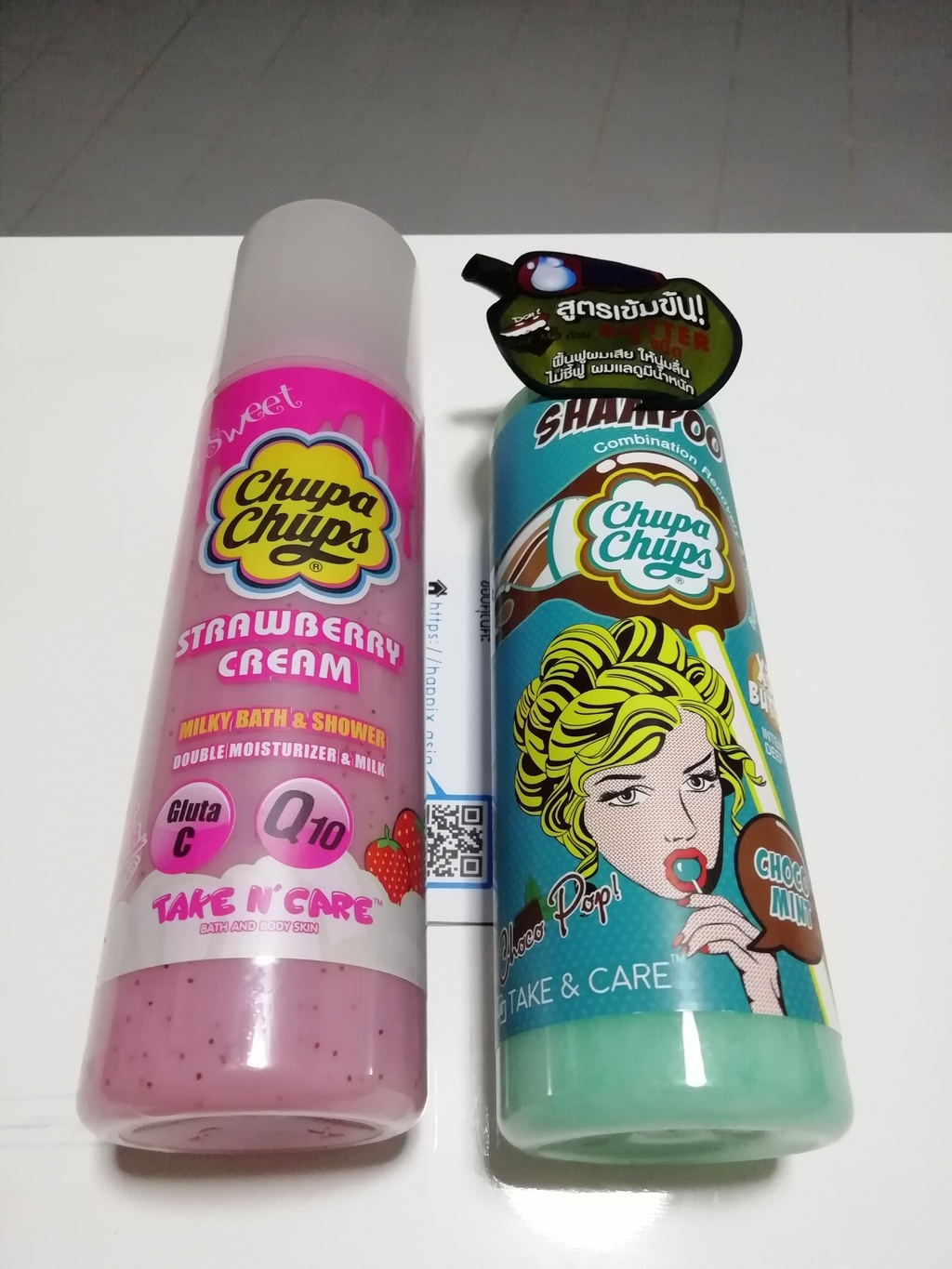 Choco pop Choco mint shampoo + Strawberry Cream Milky Bath
