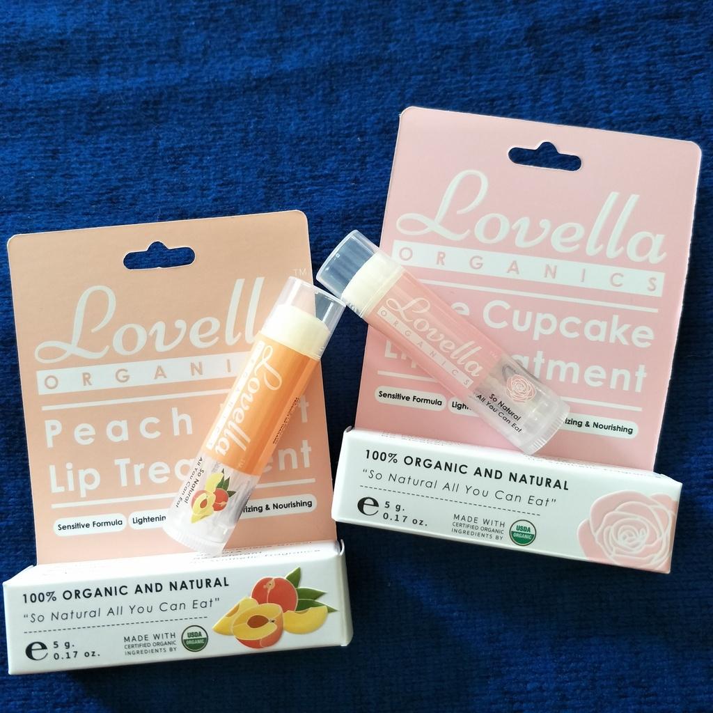 Lovella Organics ลิปบำรุงออร์แกนิค รีวิว