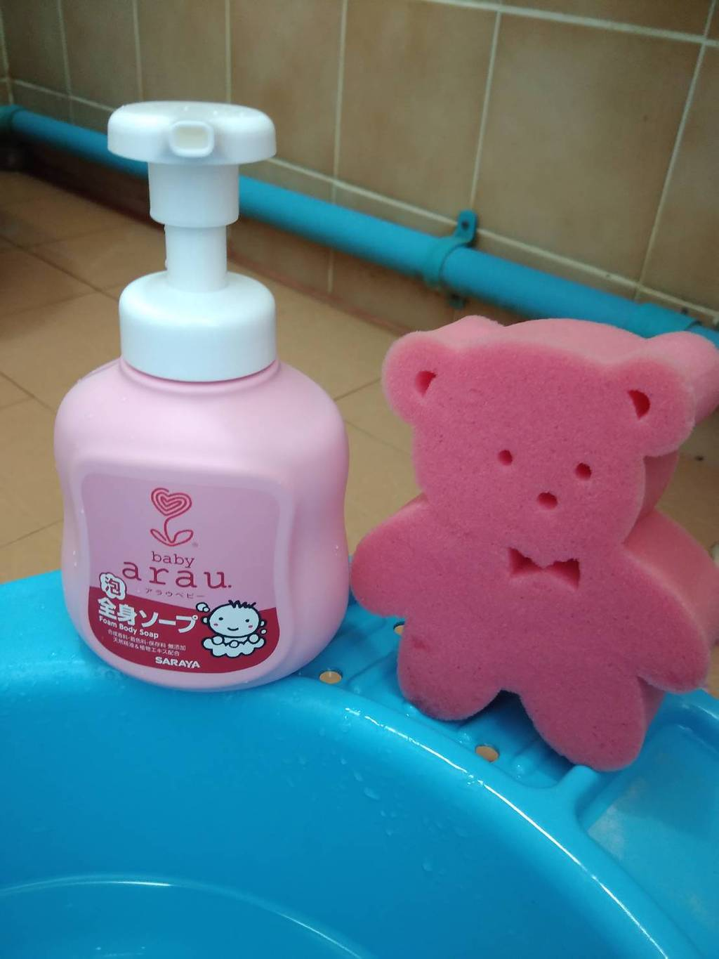arau. baby body soap รีวิว