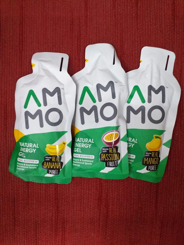 AMMO Natural Energy Gel เจลให้พลังงานสำหรับคนออกกำลังกาย รีวิว