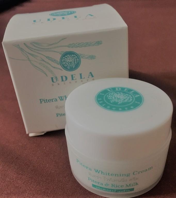 UDELA Skincare Pitera Whitening Cream รีวิว