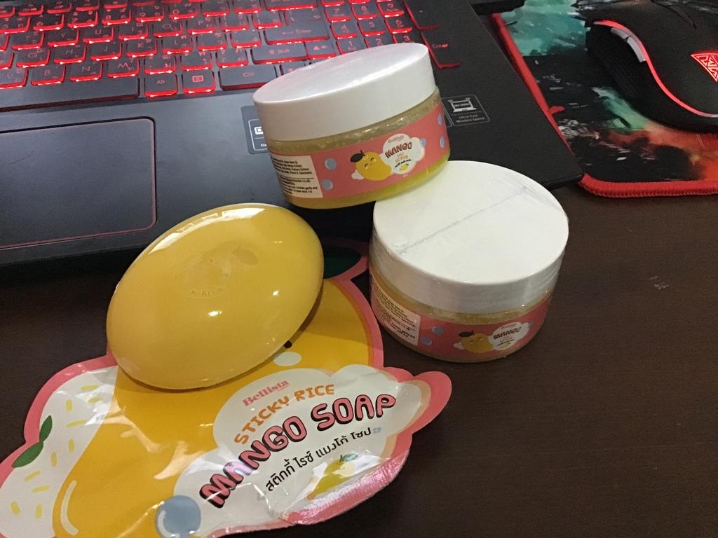 Bellista Super Duper Soft Set สครับและสบู่มะม่วง รีวิว