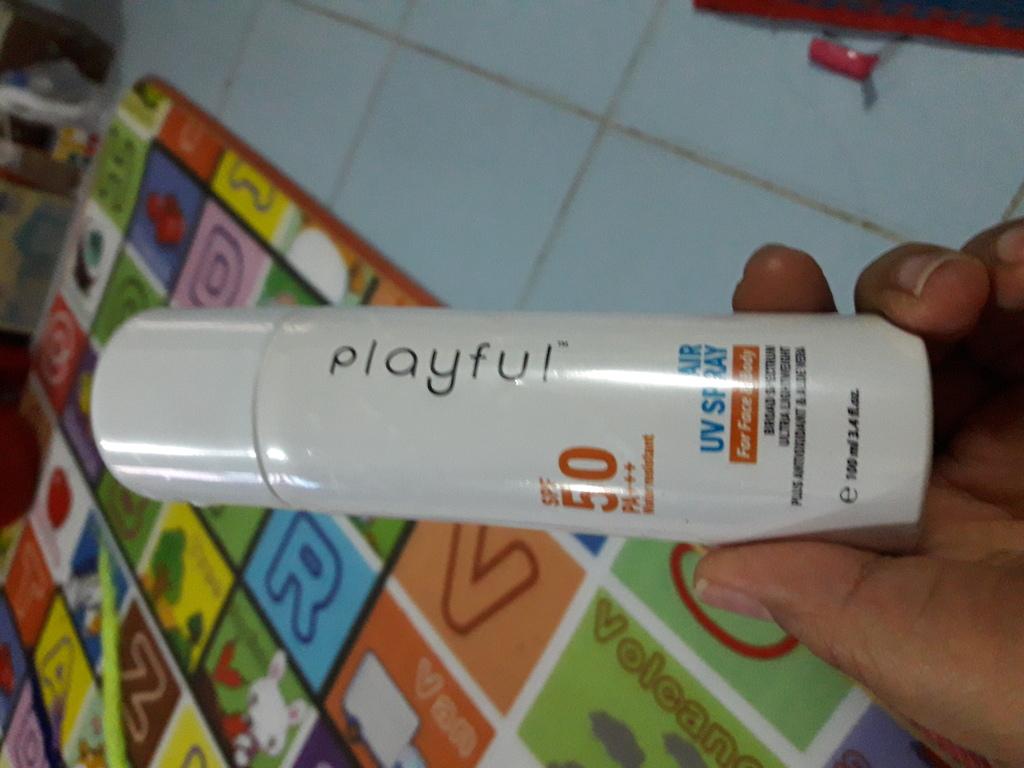 PLAYFUL Spray sunscreen สเปรย์กันแดด