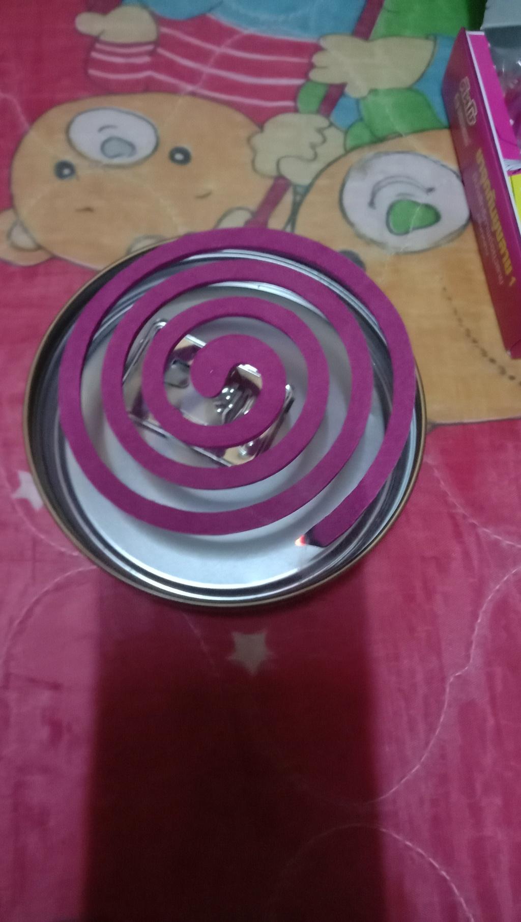 Kincho mosquito coils with tray ยาจุดกันยุงลาย1 กลิ่นกุหลาบ รีวิว