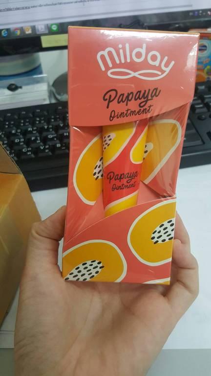 MILDAY Papaya Ointment สีผึ้งมะละกออเนกประสงค์