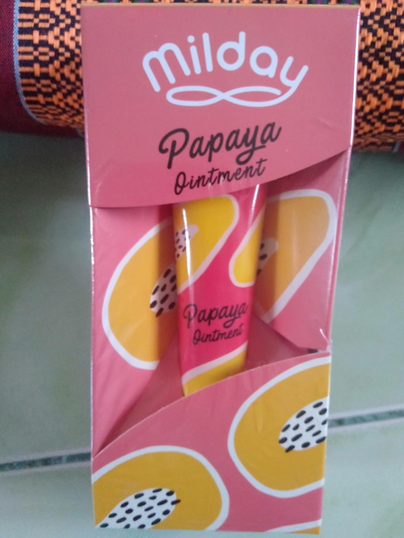 MILDAY Papaya Ointment สีผึ้งมะละกออเนกประสงค์ รีวิว