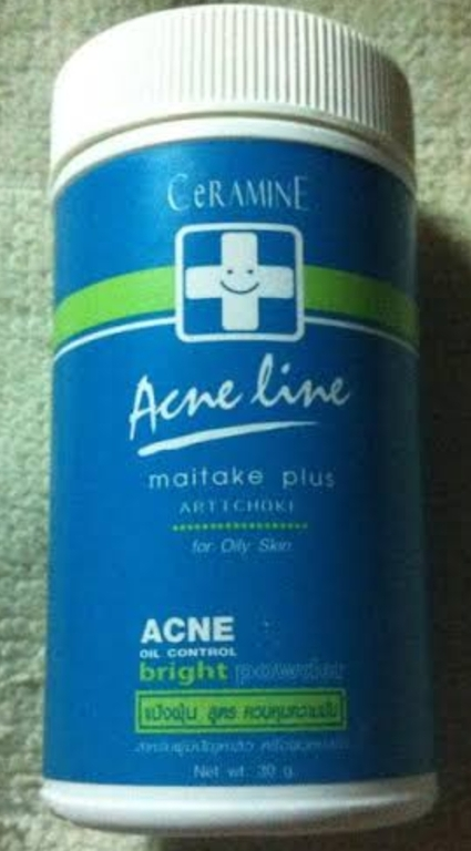 Ceramine Acne Line Maitake Plus Artichoke Acne Powder  รีวิว