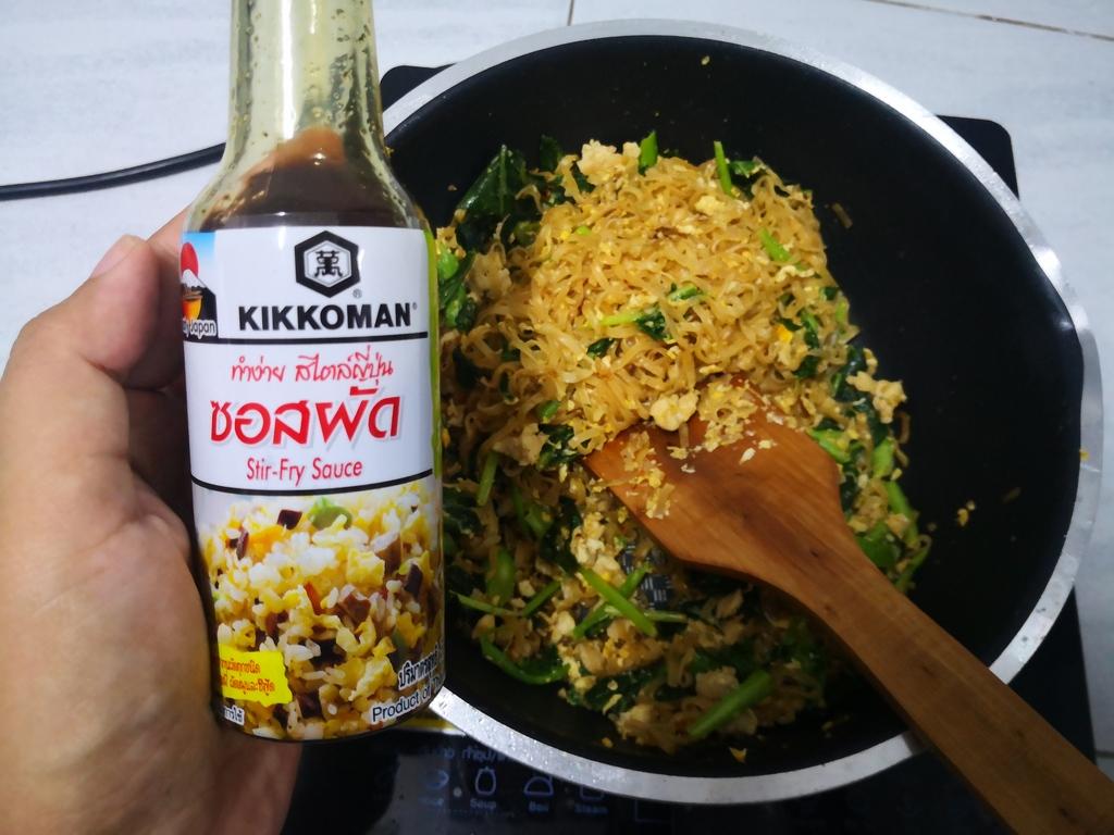 Kikkoman Stir-Fry Sauce คิคโคแมน ซอสผัด รีวิว