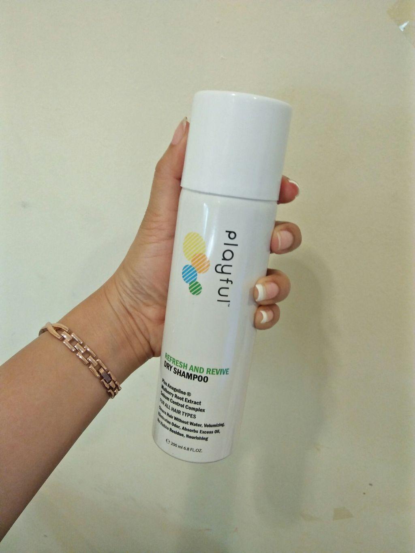 PLAYFUL Dry Shampoo สเปรย์แชมพูแห้ง รีวิว