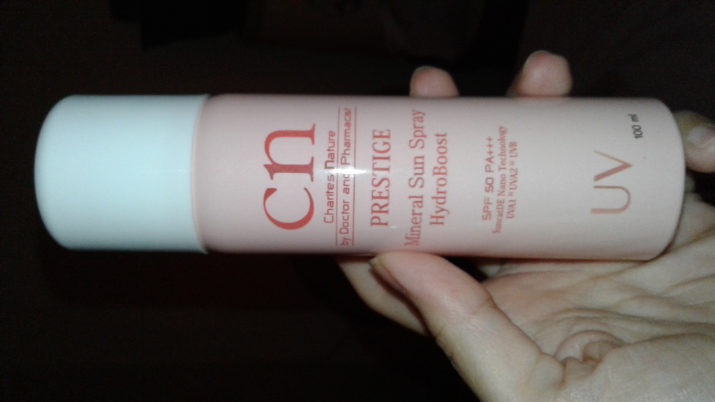CN Mineral Sun Spray HydroBoost 100ml รีวิว