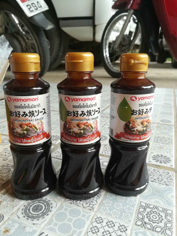 Yamamori Okonomiyaki Sauce ซอสญี่ปุ่น รีวิว