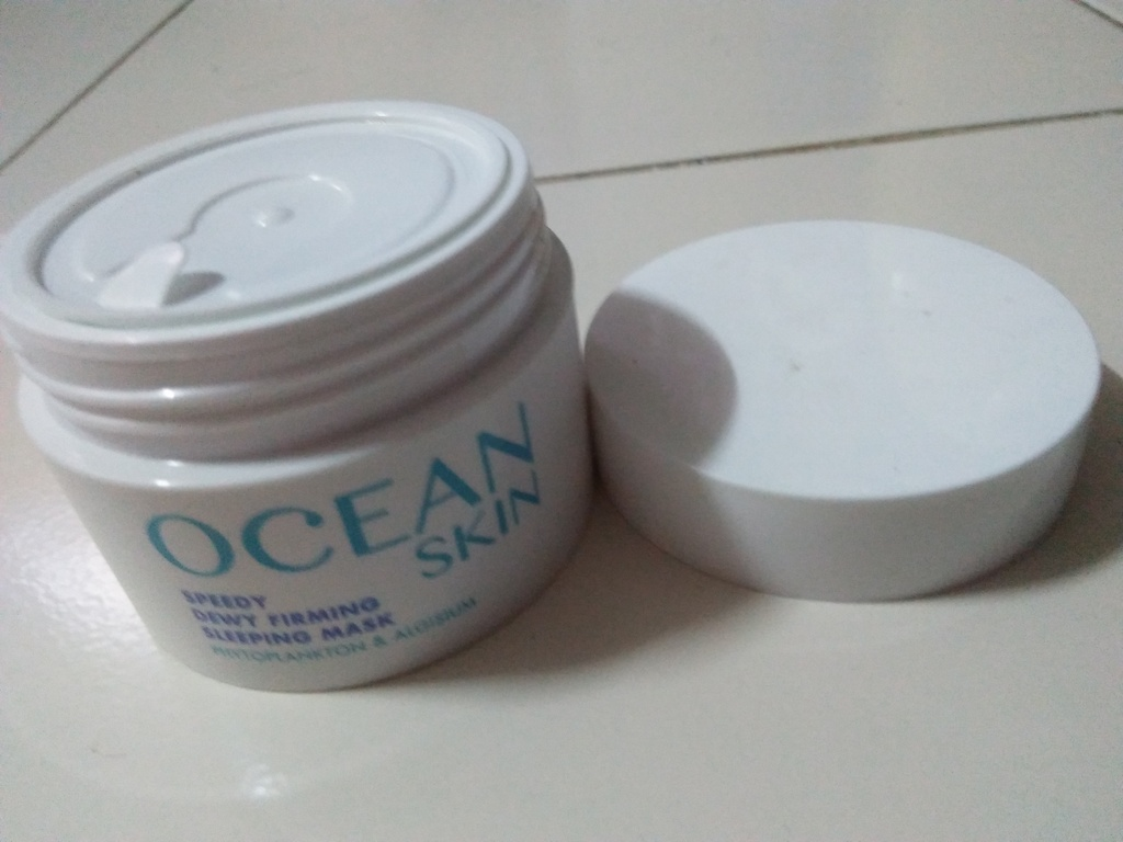 Ocean Skin Speedy Dewy Firming Sleeping Mask  สลิปปิ้ง มาส์ก ผิวเปล่งประกาย อิ่มน้ำ รีวิว