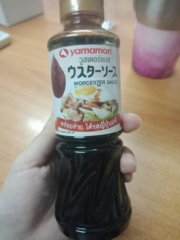 Yamamori Worcester Sauce  ซอสญี่ปุ่น รีวิว
