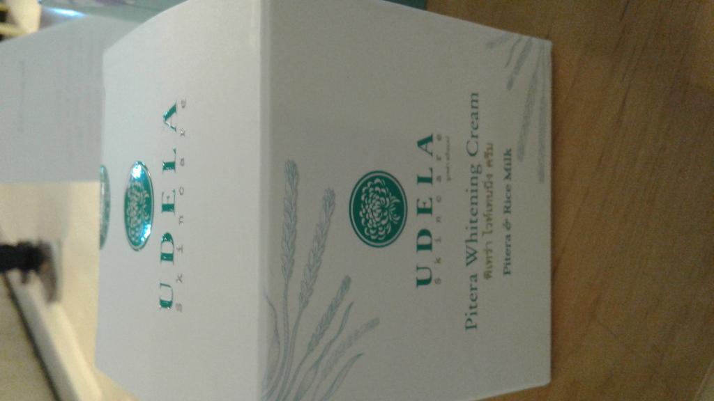 UDELA Skincare Pitera Whitening Cream ครีมพิเทร่าน้ำนมข้าว รีวิว