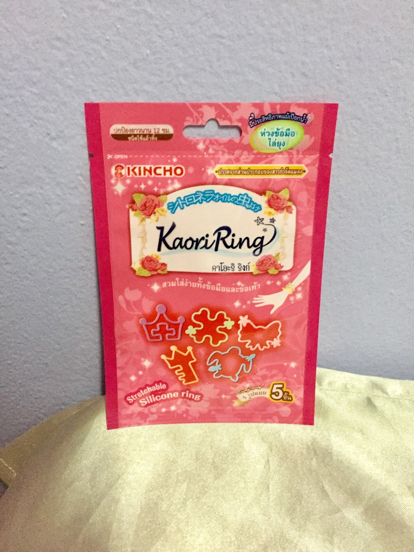 KINCHO Kaori Ring ห่วงข้อมือไล่แมลงและยุง รีวิว