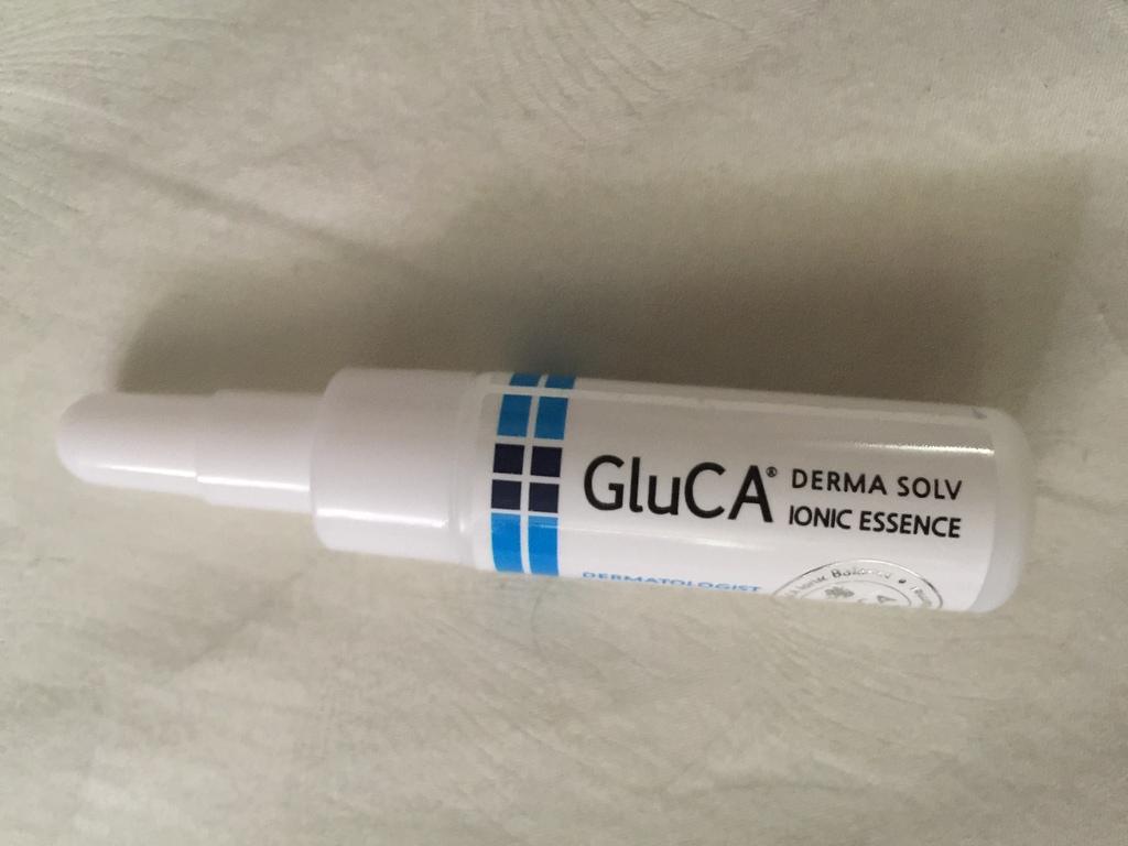 GluCA Derma Solv Ionic Essence ขนาดทดลอง รีวิว