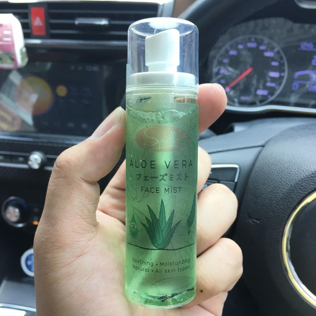 SPELLA Aloe Vera Face Mist สเปรย์น้ำแร่ ว่านหางจระเข้ รีวิว