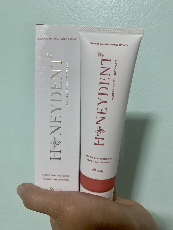 HoneyDent ยาสีฟันสูตรน้ำผึ้งมานูก้า รีวิว