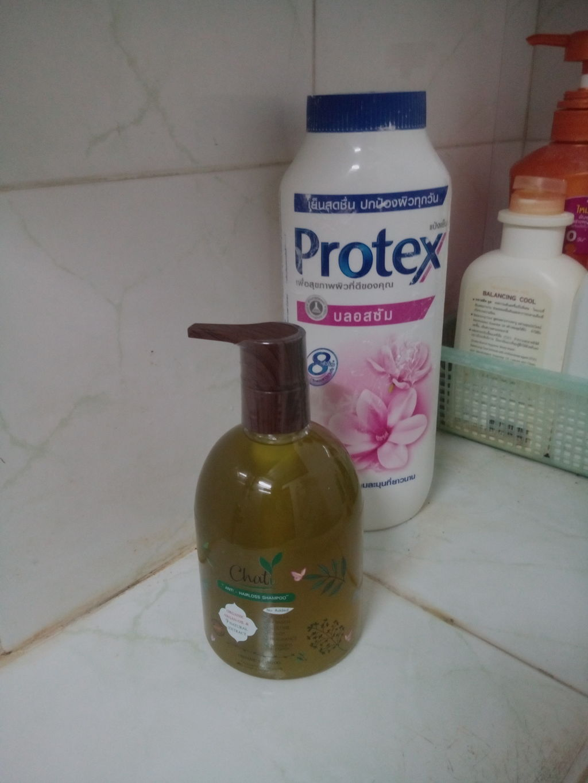 Chati Anti-Hairloss shampoo 300ml ฌาฏิแชมพู ลดผมขาดหลุดร่วง รีวิว