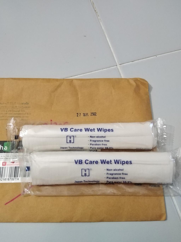 VB Care Wet Wipes ผ้าเช็ดทำความสะอาด รีวิว