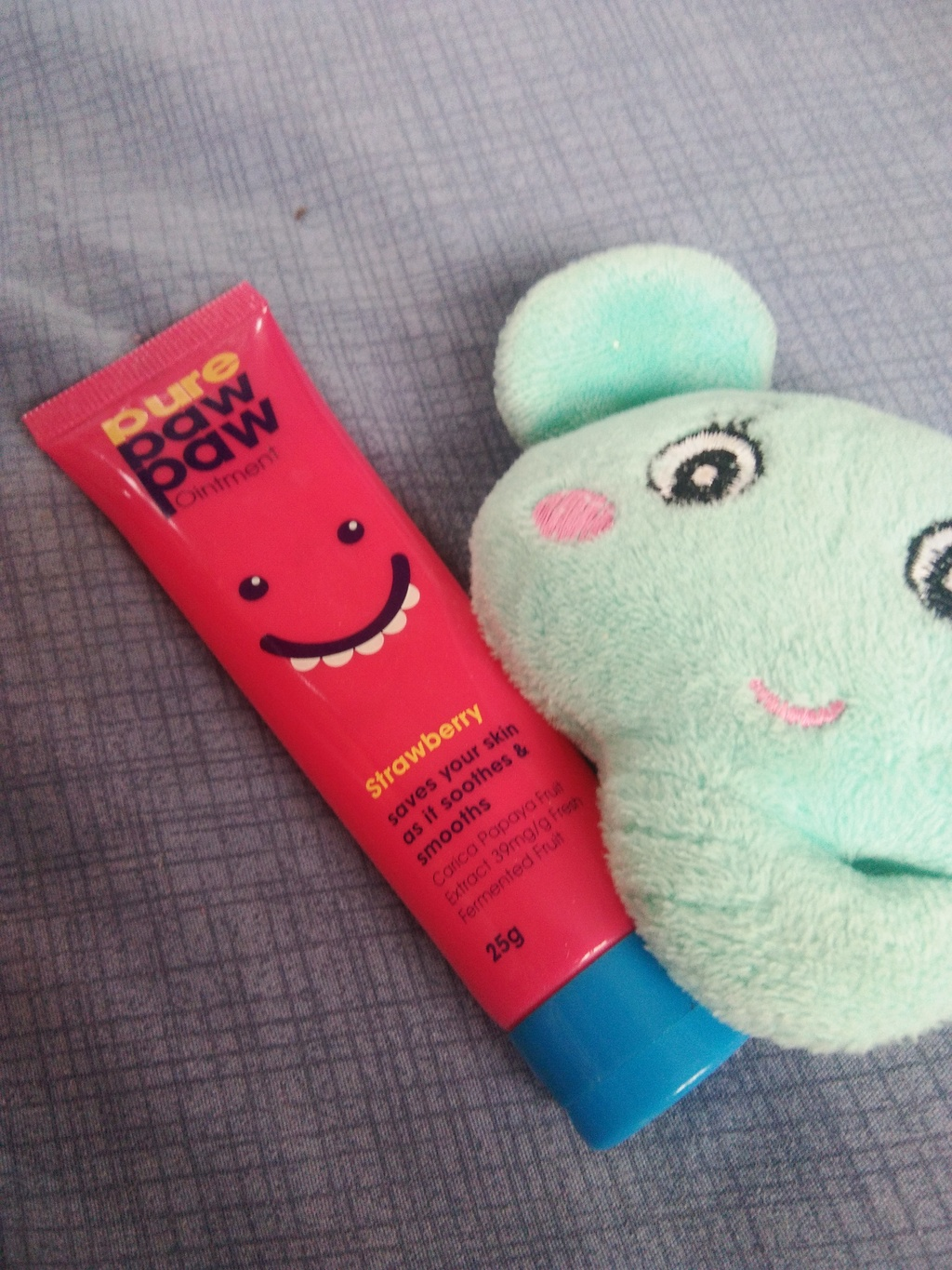 Pure Paw Paw Ointment Strawberry Pink รีวิว