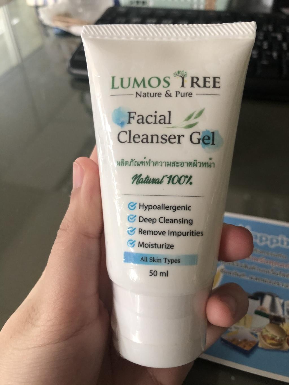 Lumos Tree Facial Cleanser Gel เจลล้างหน้า บอกลาสิว รีวิว