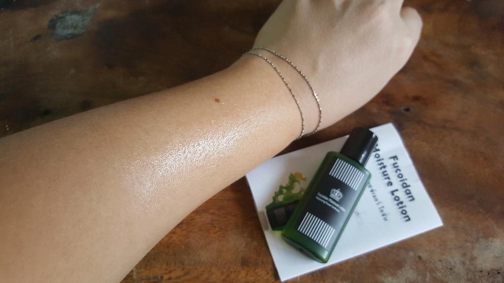 Fucoidan Moisture Lotion โลชั่นบำรุงผิว สำหรับผิวแห้ง ผิวแพ้ง่าย รีวิว