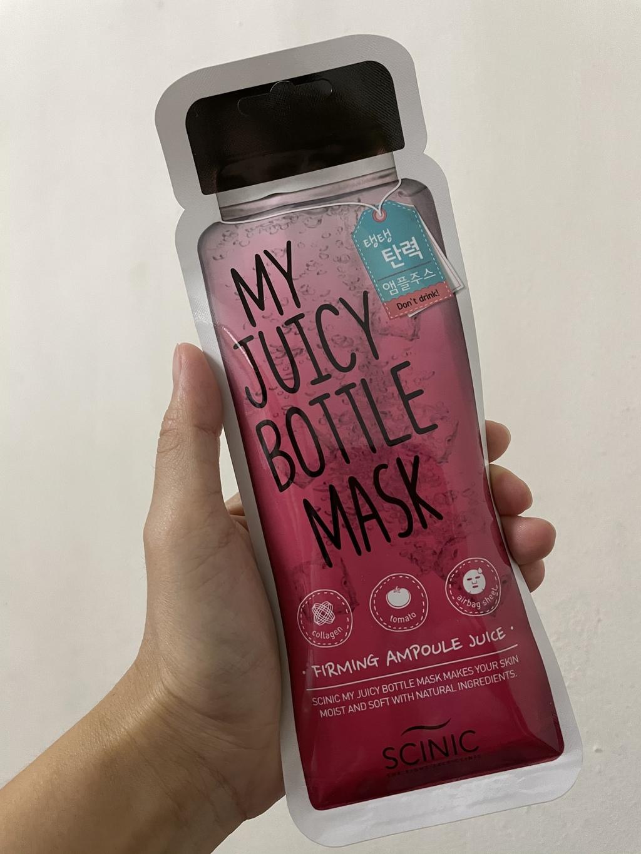 Scinic My Juicy Bottle Mask Firming Ampoule Juice รีวิว