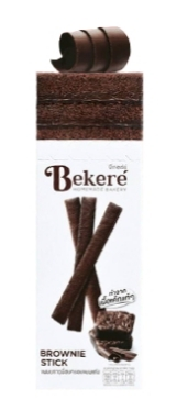 Bekeré Brownie Stick เค้กอบกรอบแบบแท่งรสบราวนี่ รีวิว