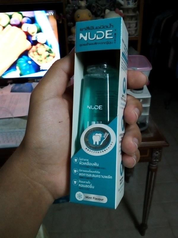 Nude Mint Flavour Liquid Toothpaste 80ml