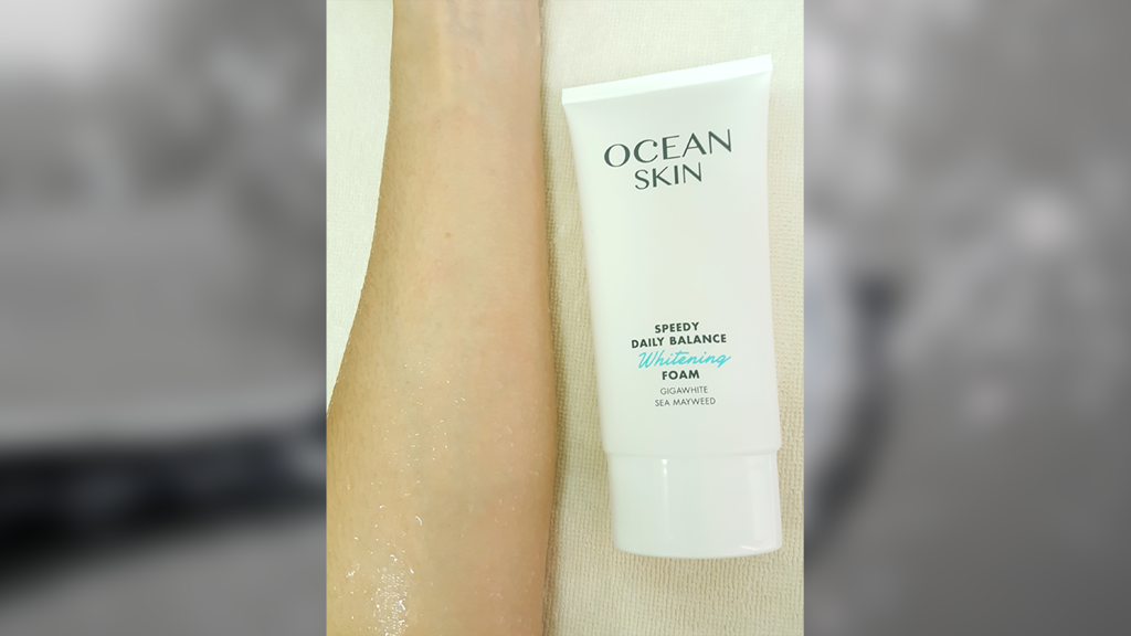 Ocean Skin Speedy Daily Balance Whitening Foam รีวิว