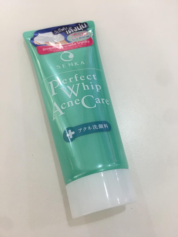 Senka Perfect Whip Acne Care 100g รีวิว