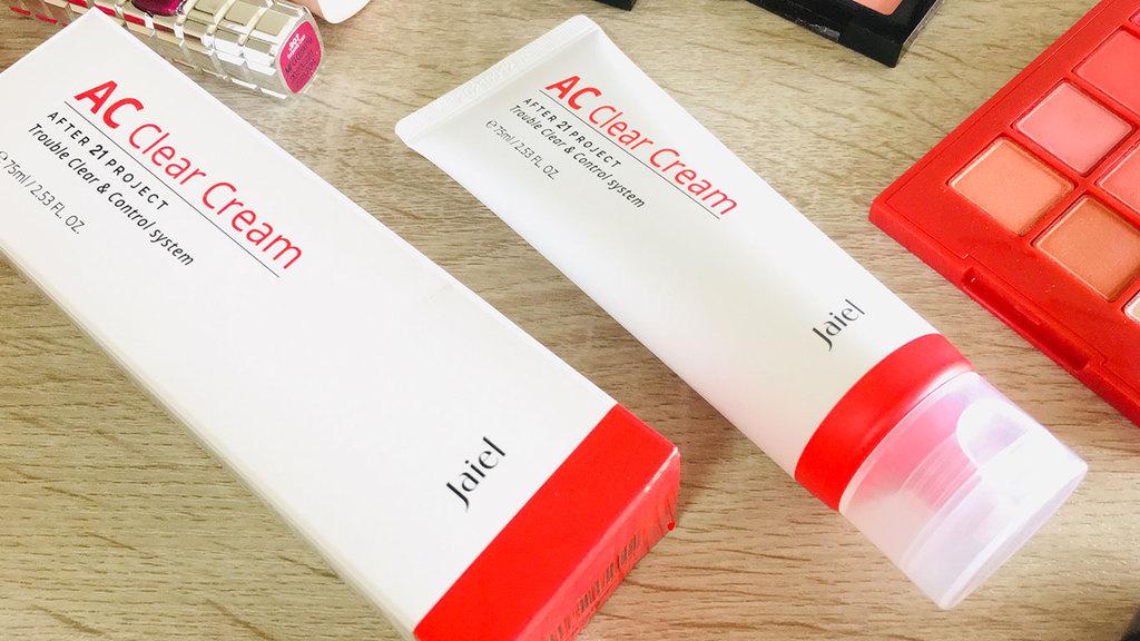Jaiel AC Clear Cream สิวหายปั๊บ หน้าใสกริ๊ง รีวิว