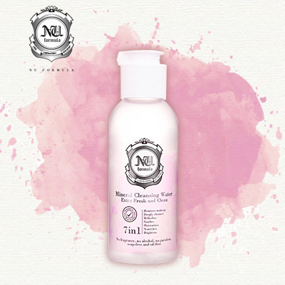 Nu Formula Mineral Cleansing Water