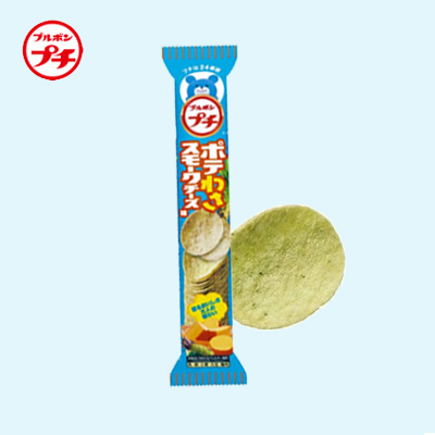 Petit Wasabi & Smoked Cheese Potato Crisps