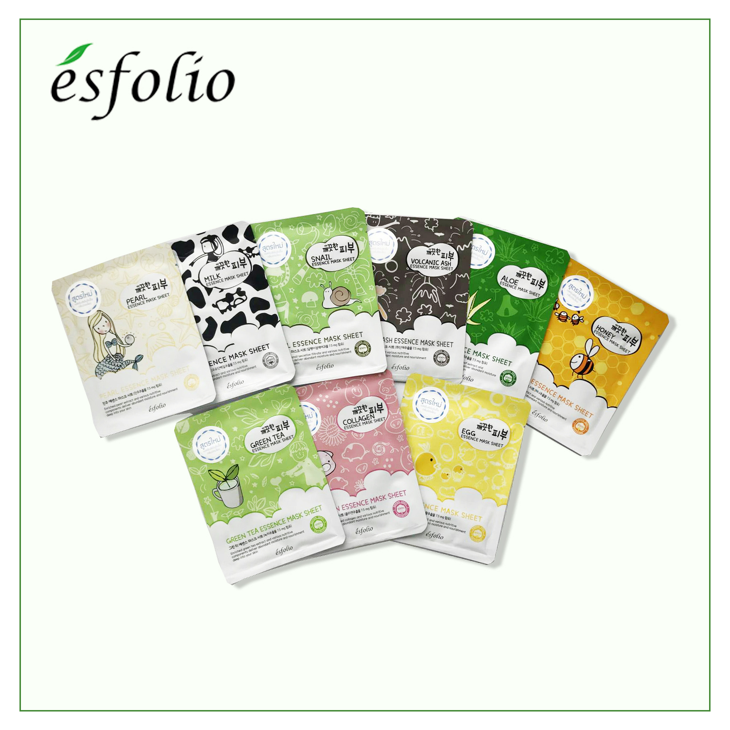 Esfolio Mask sheet