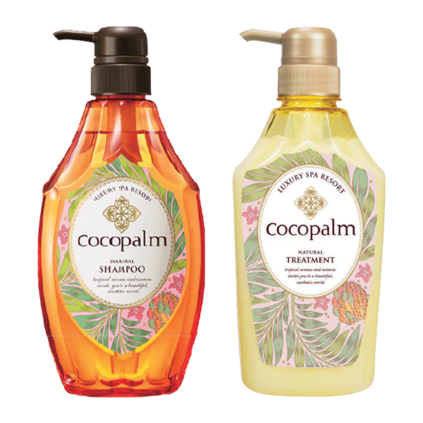 Cocopalm shampoo / treatment [600ml Bottles 2 bottles set]