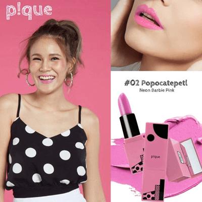 Pique Cosmetic ลิปสติก 02 Popocatepetl
