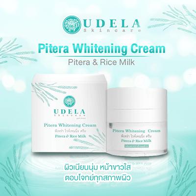 UDELA Skincare Pitera Whitening Cream