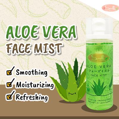 SPELLA Aloe Vera Face Mist สเปรย์น้ำแร่ ว่านหางจระเข้
