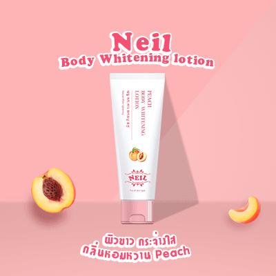 Neil Body Whitening lotion Peach โลชั่นบำรุงผิวเนื้อบางเบา