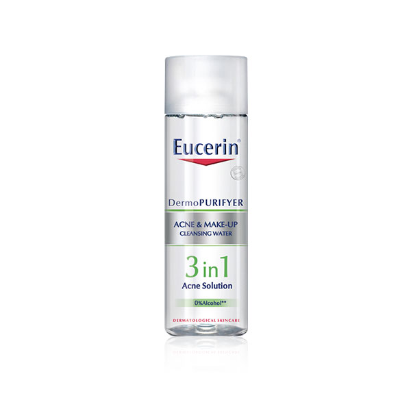 Eucerin ACNE/MAKE-UP CLENSING WATER