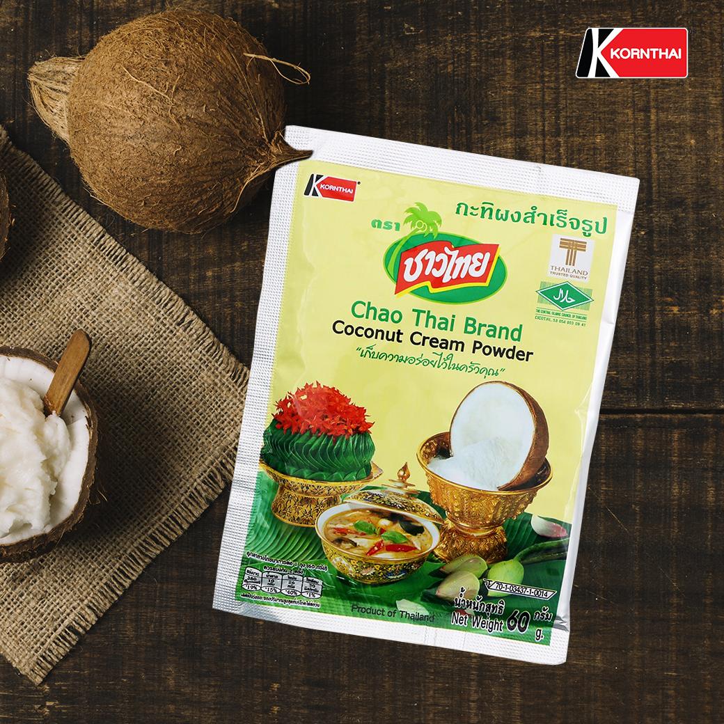 Chao Thai Brand Coconut Cream Powder กระทิผงสำเร็จรูป