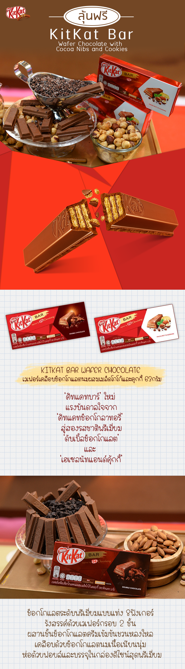kitkat bar wafer in Milk Chocolate