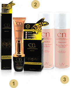 CN Minute Miracle Whitening Cream รีวิว